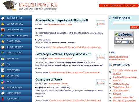 englishpractice.com